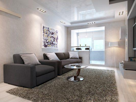 дизайн зала в квартире 20 кв м фото