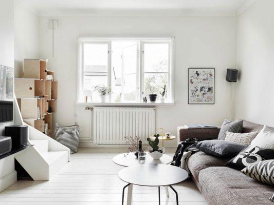 дизайн зала 16 кв м в квартире фото