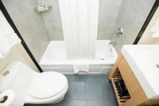 Дизайн ванных комнат совмещенных с туалетом фото 4 кв м