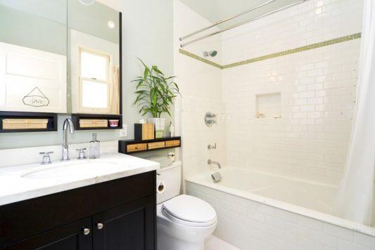Дизайн ванной комнаты 6 кв м совмещенной с санузлом: фото