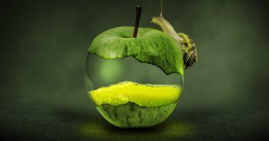 Яблочный пилинг скатка — великолепный продукт корейской компании Mizon.