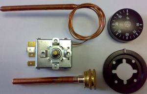 Механический терморегулятор для котлов центрального отопления