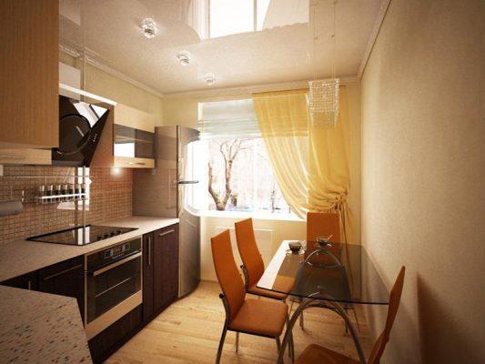 кухня 9 кв метров идеи для кухни интерьеры фото