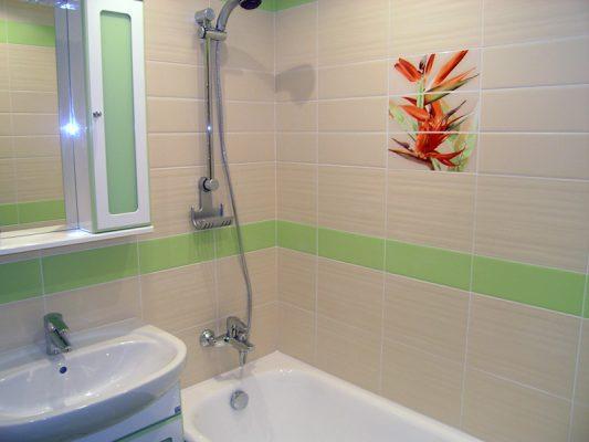 керамическая плитка в ванную фото