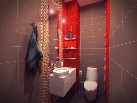 дизайн туалета в квартире фото