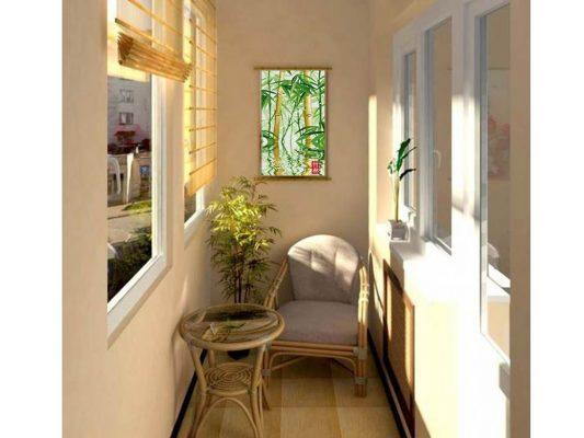 дизайн балкона в квартире фото