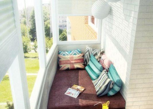 Дизайн балкона 3 метра фото