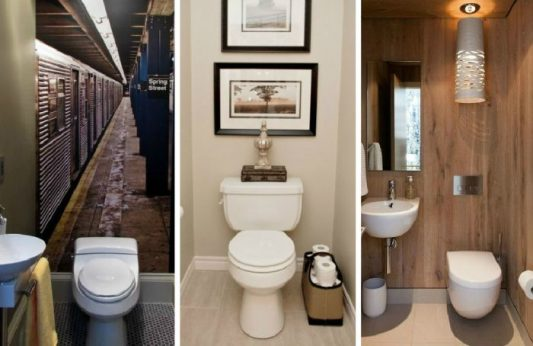 Материалы для отделки туалета