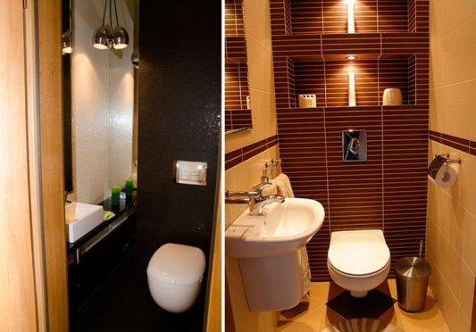 Дизайн туалета 3 кв. м.