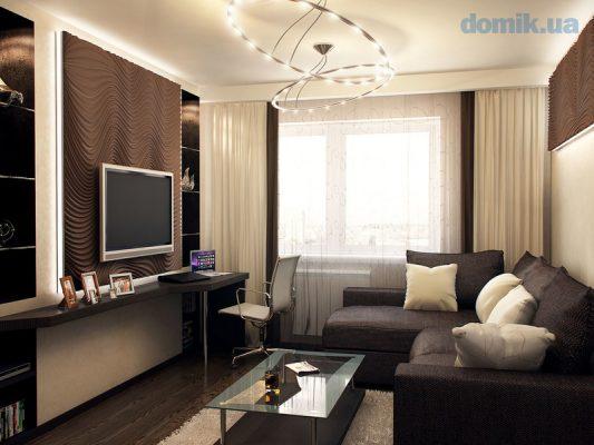 Как расставить мебель в комнате 18 метров: фото