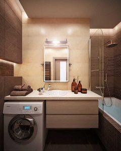 дизайн совмещенного санузла 4 кв м со стиральной машиной фото