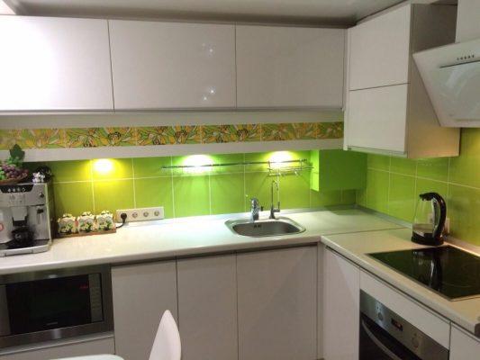 Кухня 7 кв. м: фото