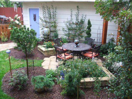 Дизайн садового участка 6 соток своими руками: фото