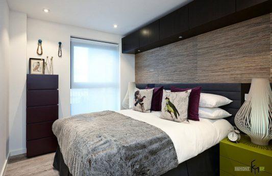 Дизайн спален небольшой площади в современном стиле фото