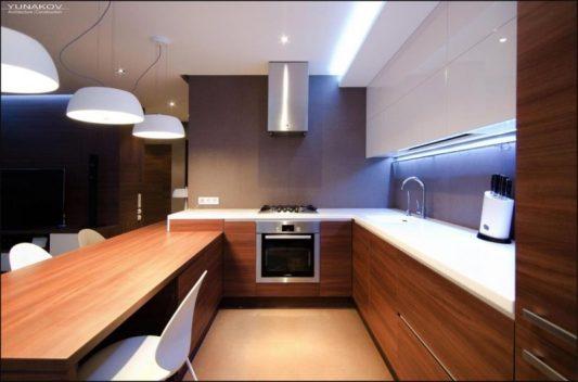 Как оформить кухню в квартире фото