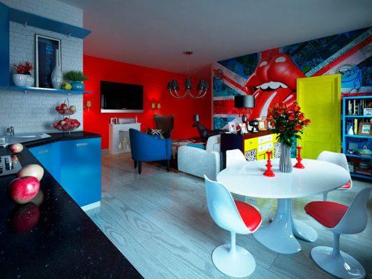 оформление кухни в современном стиле фото в квартире