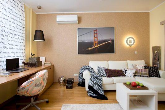 Ремонт однокомнатной квартиры 40 кв м в новостройке фото