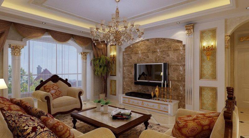 дизайн гостинной комнаты 17 кв м фото в классическом стиле
