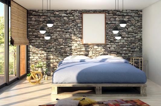 Современный стиль спальни.